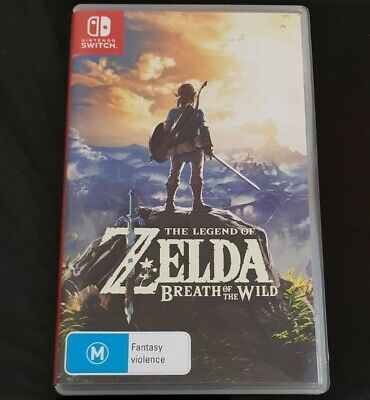 AU59.99 • Buy The Legend Of Zelda: Breath Of The Wild (Switch, 2017) - Includes Poster - VGC