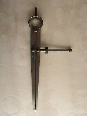 """£10 • Buy Moore And Wright 50/8"""" Spring Dividers/Calipers."""