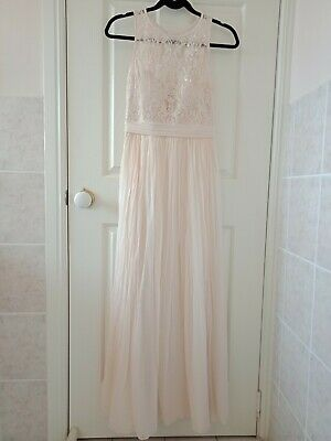 AU30 • Buy Forever New Silk Maxi Formal Bridesmaid Dress Size 8