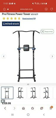 £30 • Buy Pro Fitness Power Tower (Pull Up Bar)