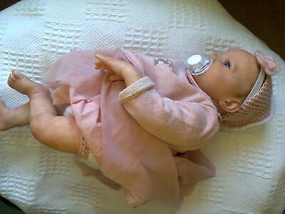 £110 • Buy Reborn Baby Doll Pretty KIMI By Bountiful Babies And Donna Rubert 20 Inch