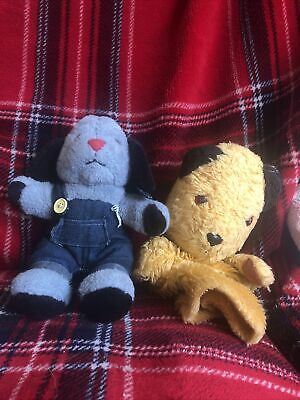 £2.50 • Buy Sooty Glove Puppet And Sweep Soft Toy With Squeak 🎈