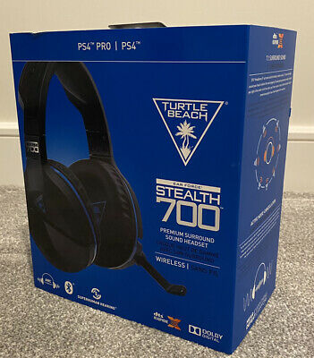 £30 • Buy Turtle Beach Ear Force Stealth 700 Wireless Gaming Headset PS4 Pro PS4
