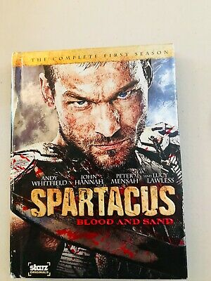 £8.64 • Buy Spartacus: Blood And Sand: Season 1 Andy Whitfield John Hannah DVD 4-disc Set NR