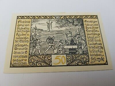 £0.85 • Buy 50 Pfennig 1921 Excellent Condition Old BANKNOTE Germany