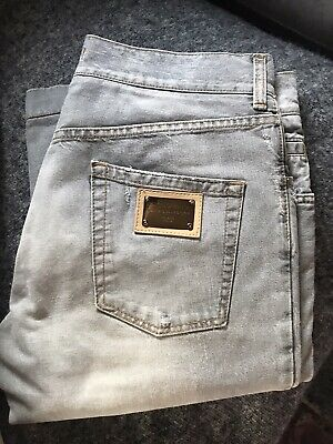 £0.99 • Buy Mens Dolce And Gabbana Jeans .W36/L34. Pale Grey