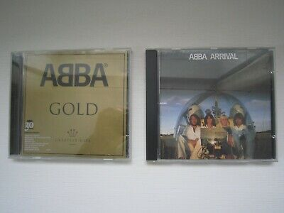£3.99 • Buy ABBA CDs - ABBA Gold & ABBA Arrival - Great Condition