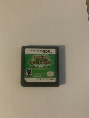 $79.99 • Buy Pokemon Mystery Dungeon: Explorers Of Sky (Nintendo DS) Authentic Cartridge Only
