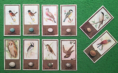 £2.85 • Buy Godfrey Phillips Cigarette Cards Lot B057.british Birds And Their Eggs.