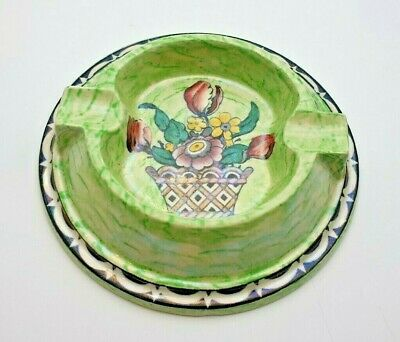 £14.99 • Buy Fine Art Deco Newhall Boumier Ware Ashtray - Signed - Perfect