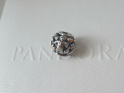 AU35 • Buy Authentic PANDORA S/Silver & 14 Ct Gold FAMILY FOREVER Charm. #791040