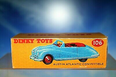 £3.95 • Buy Dinky Toys Styled Austin Atlantic Convertible Box Number 106