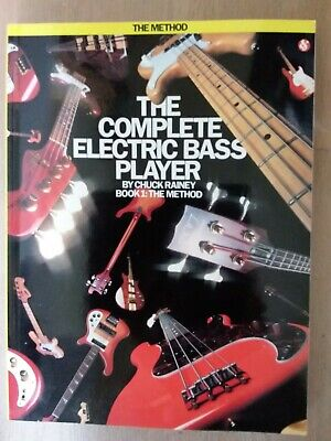 £2.50 • Buy The Complete Electric Bass Player Book 1: The Method By Chuck Rainey Paperback