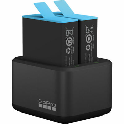 AU75.50 • Buy NEW GoPro Dual Battery Charger (HERO9 Black 1 Battery Included)