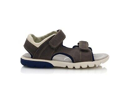 £23 • Buy Clarks Boys Sandal Rocco Wave Brown Size 12 G RRP £36