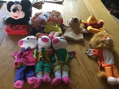 £8 • Buy Glove Puppet Collection