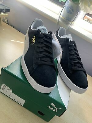 AU77.48 • Buy Puma Classic Suede Trainers In Black, Size 11 Uk, New