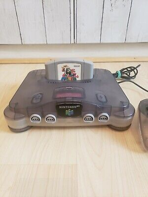 $ CDN212.01 • Buy Nintendo N64 Japanese NTSC Console Rare Colour Grey And Translucent With Games