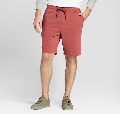 $12.95 • Buy New Goodfellow & Co Men's 9″ French Terry Knit Shorts - Ferrous Red [Size M/34]