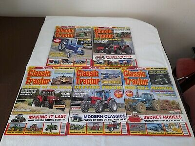 £2.50 • Buy Classic Tractor Magazines - 5 Issues - June 2016 - May 2020