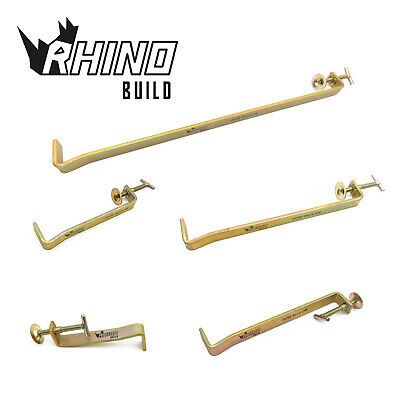 £9.99 • Buy Rhino Build Bricklaying Profile Clamps - Internal And External