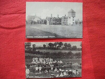 £2.99 • Buy 2 RP Postcards MOSTYN HOUSE SCHOOL Parkgate Picnic View From Cricket Ground Rare