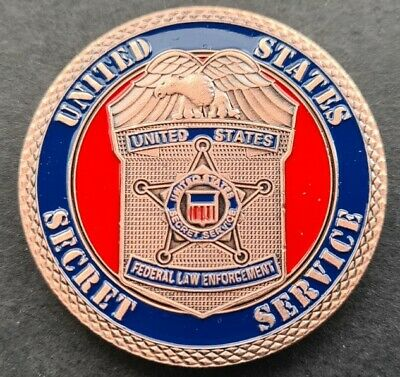 £4.99 • Buy US SECRET SERVICE Challenge Coin FREE COIN STAND AND BRAND NEW FITTED COIN CAPSU
