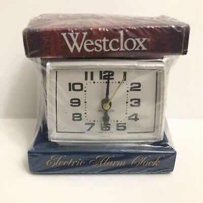 AU25.38 • Buy Westclox Electric Alarm Clock Made In USA New In Package