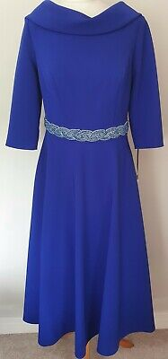 £30 • Buy Blue Veni Infantino Mother Of The Bride/races Outfit Size:12