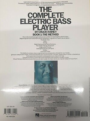£5 • Buy The Complete Electric Bass Player Book 1: The Meth... By Rainey, Chuck Paperback