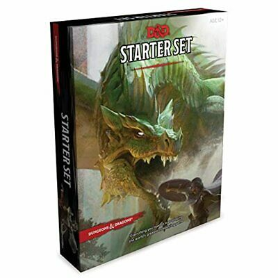AU24.04 • Buy New Dungeons And Dragons Starter Set Wizards RPG Team