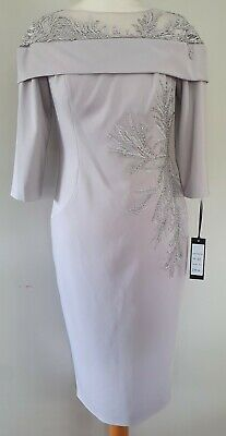 £47.50 • Buy Silver Veni Infantino Mother Of The Bride/special Occasion Outfit Size:10