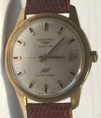£854.14 • Buy Vintage Watch Longines Automatic ULTRA-CHRON In Oro 18k