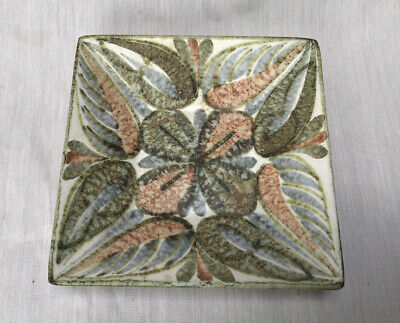 £14 • Buy Denby Square Shallow Pin Dish Tray Glyn Colledge Fantastic Condition 1970's