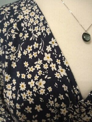 £8 • Buy Peacocks Size 18 Navy Ditsy Floral Dress