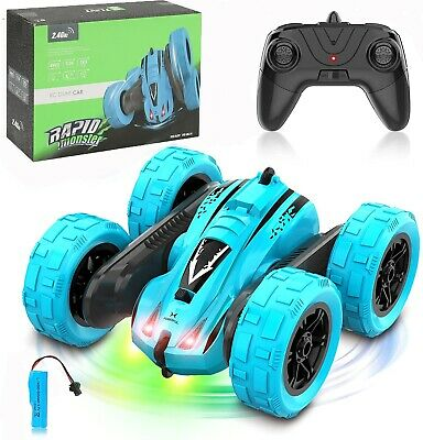 £28.63 • Buy 4WD RC Car 1:24 Double Sided RC Stunt Car 360° Reversal Vehicle Toys For Kids