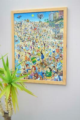 £45.99 • Buy Wooden Frame For 1000 Piece Millboard Jigsaw Puzzle