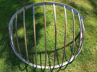 £100 • Buy Vintage Rare Hay Horse Feeder - Large - Great For Planter -