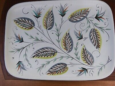 £18 • Buy Glyn Colledge For Denby Large Plate/tray 25cm X 35 Cm