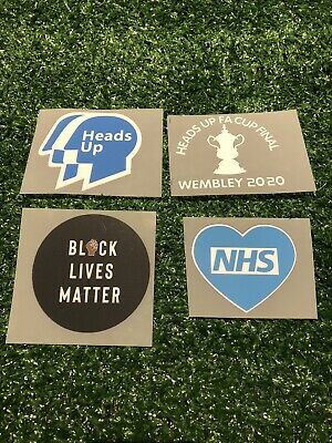 £11.99 • Buy The Heads Up Final Wembley Fa Cup 2020 Heatpress Arsenal Fc Match Detail Patches