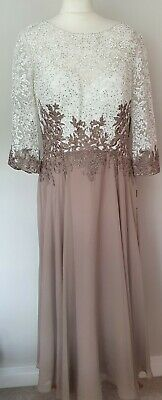 £30 • Buy Ivory/latte Veni Infantino Special Occasion Outfit Size:14