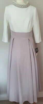 £32 • Buy Ivory Veni Infantino Mother Of The Bride/special Occasion Outfit Size:14