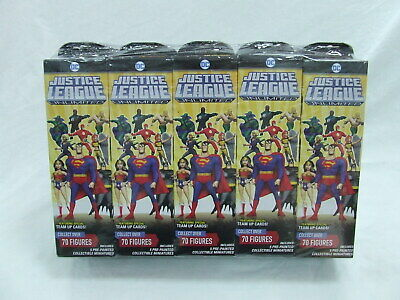 £94.45 • Buy DC Justice League Unlimited Heroclix Sealed Booster Brick (10 Boosters)