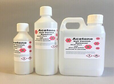 £8.85 • Buy Nail Varnish Remover  Acetone 99.9% Pure