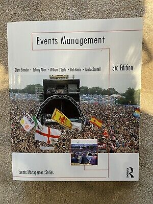 £15 • Buy Events Management 3rd Edition Bowdin, Allen, O'Toole, Harris And McDonnell