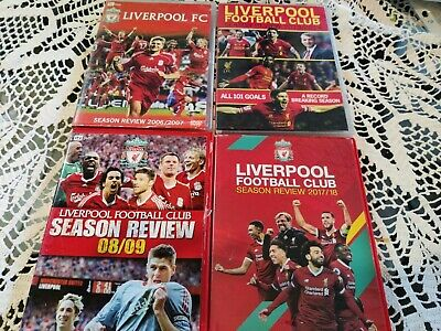 £18 • Buy Liverpool Season Review 2006/07 2008/09 2013/14 And 2017/18