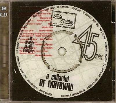 $ CDN17.22 • Buy A CELLARFUL OF MOTOWN! VOLUME 1 Various Artists New & Sealed 2x CD Northern Soul