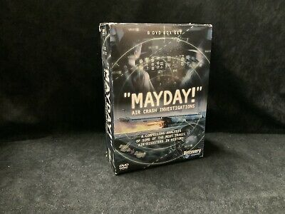 £17.99 • Buy Mayday - Air Crash Investigations (Discovery Channel DVD Box Set) (L7)