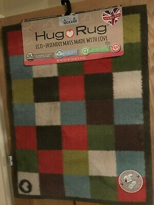 £39.99 • Buy Hug Rug Dirt Trapper 65 X 85 Check 10 Machine Washable Brand New With Tags