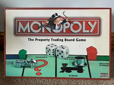 £12.99 • Buy Monopoly Classic Board Game (2003) - Hasbro Parker - Complete With Instructions